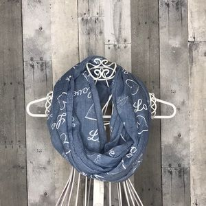 Love & Happiness Infinity Scarf
